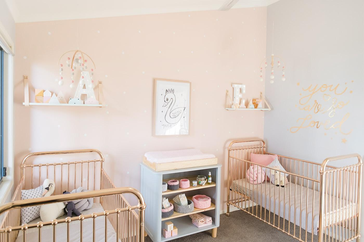 Designer Baby Girl Room