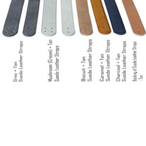 Suede Leather Strap Colour Options