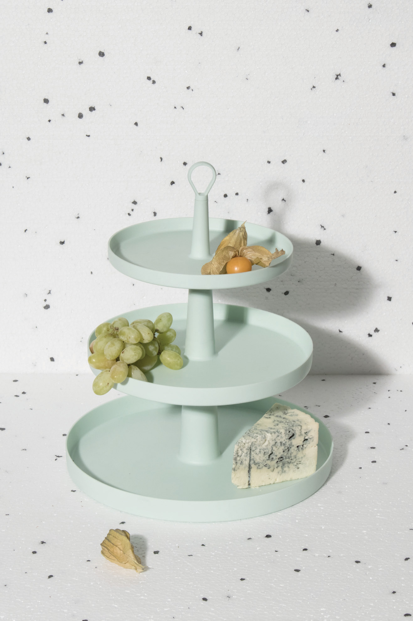 Cake Stand. Mint Tier Cake Stand