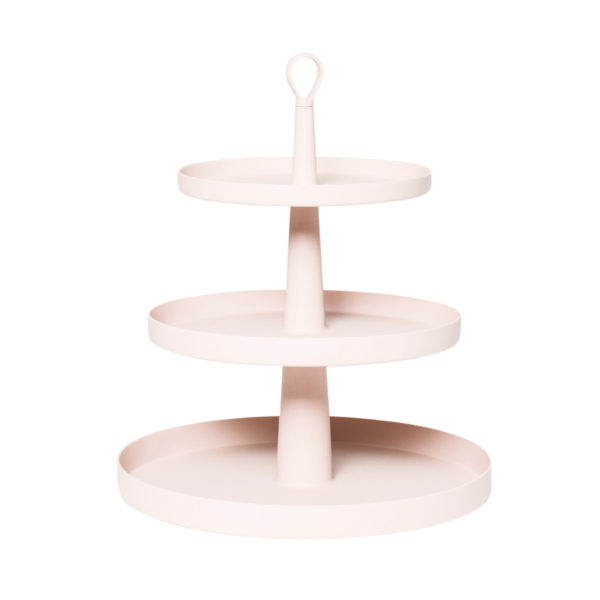 Suede Tier Cake Stand