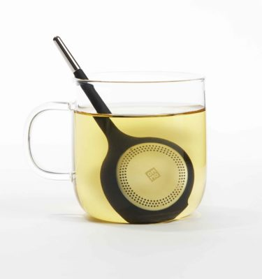 Tea Infuser Black Torus