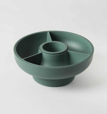 Hoop Modular Serving Bowl olive