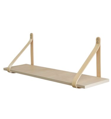 Nude Leather Nordic Shelf Medium DE LR