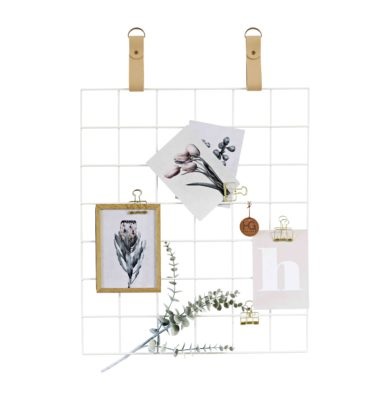White Grid mood Board Nude Straps White Grid DE LR