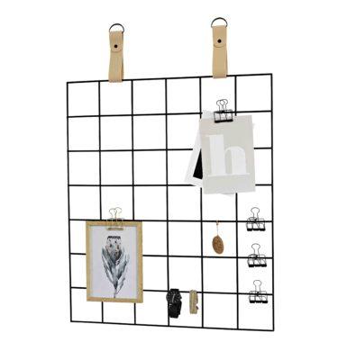 Black Grid Mood Board