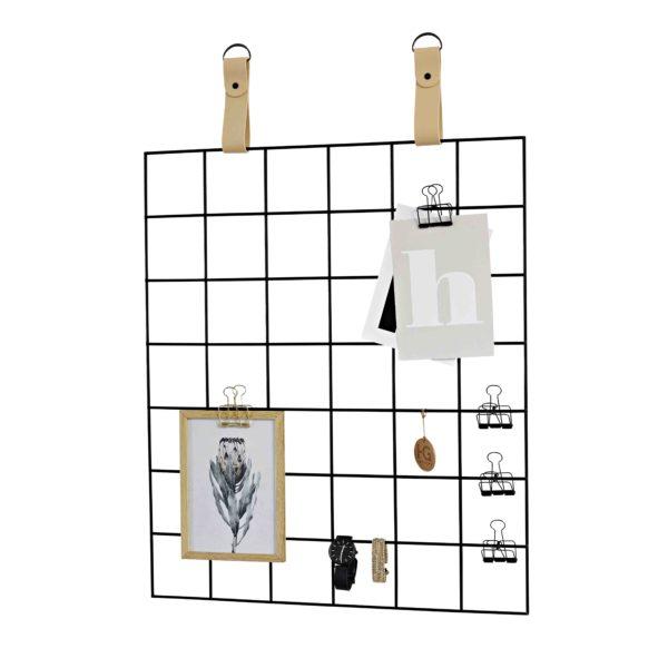 Nude Straps Black Grid Mood Board