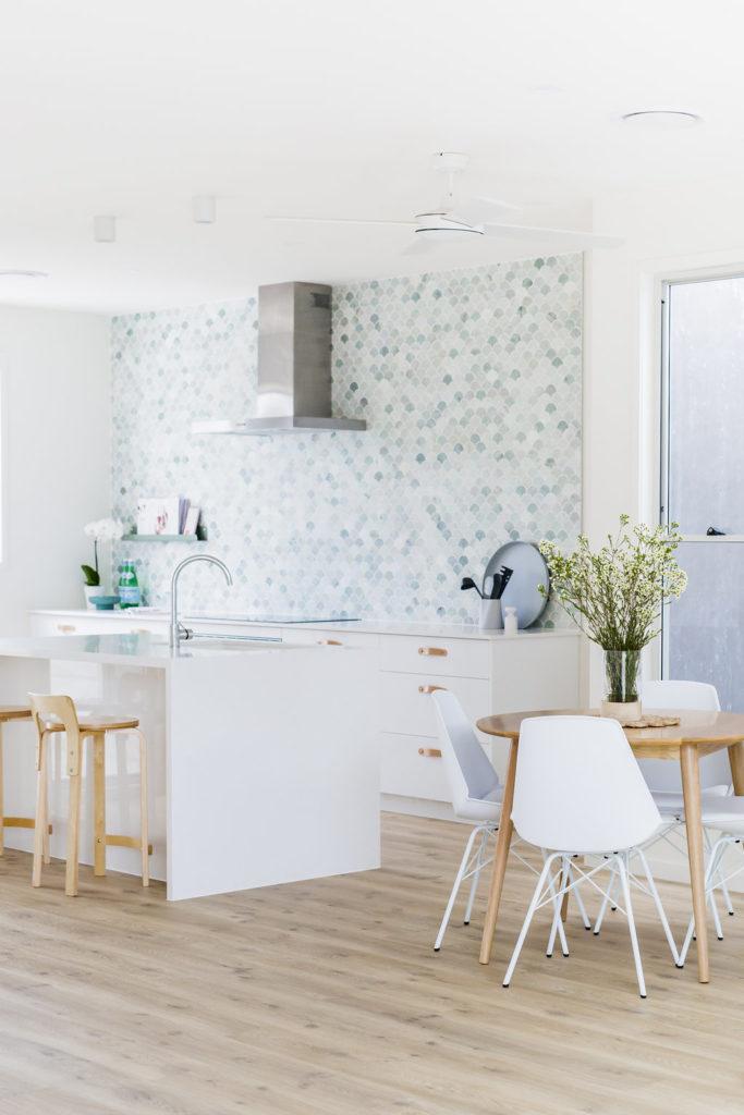 Breeze Block House Kitchen