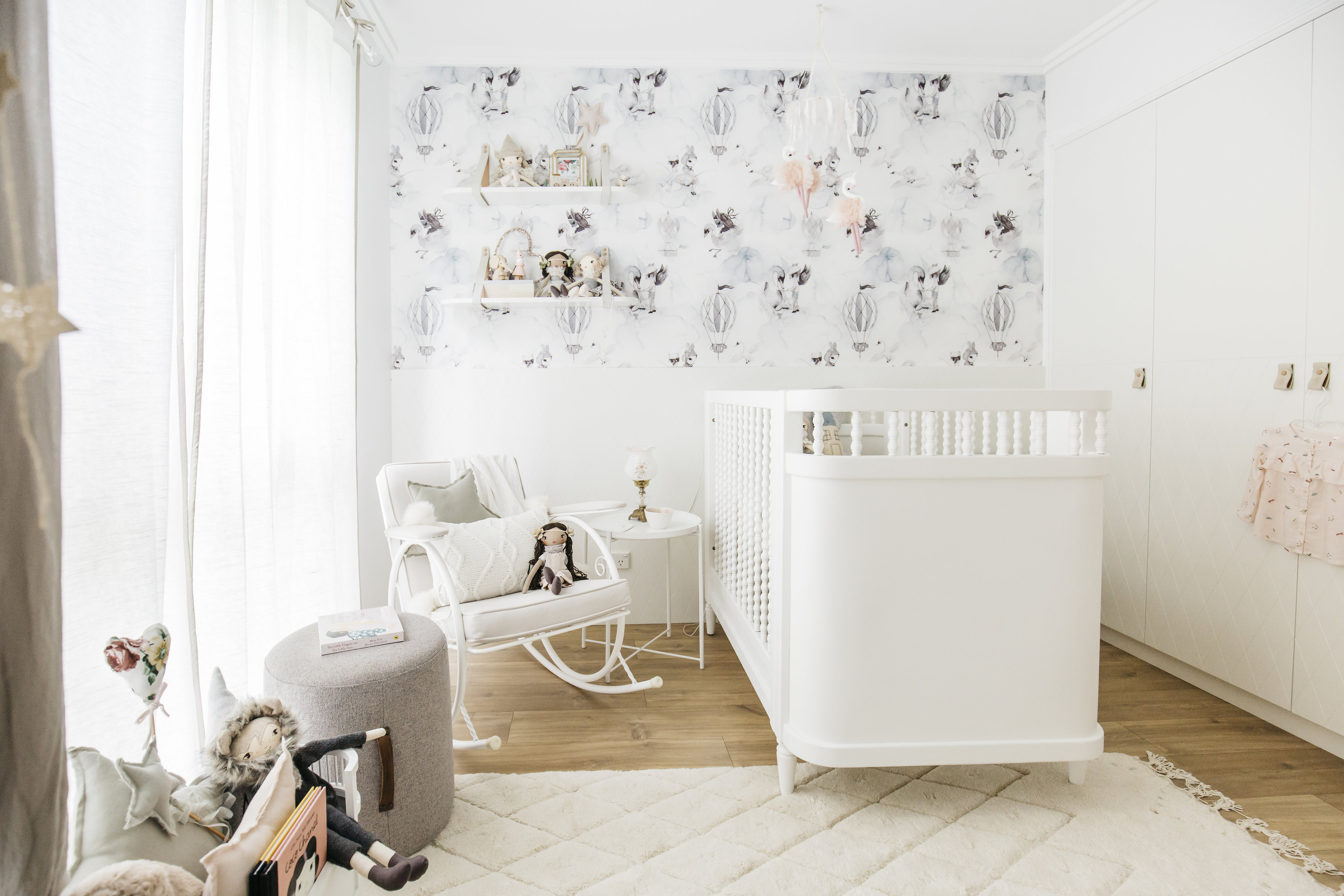 Stylish Baby Girl's Nursery- Sophie
