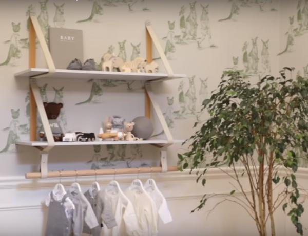 Nadia Bartel Nursery Shelf
