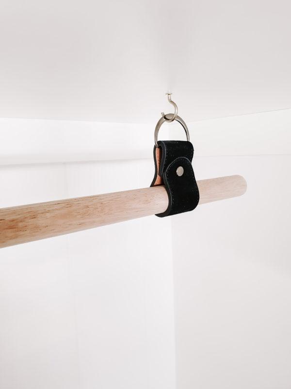 Black Hanging Rail