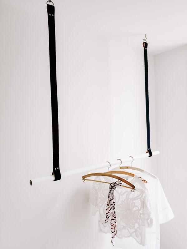 Leather Hanging Rail